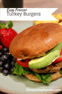 Quick and Easy Turkey Burger Recipe to freeze