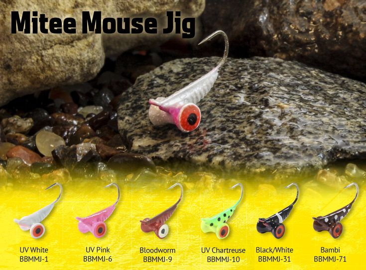 """NORTHLAND'S NEW BUG-EYED MITEE MOUSE JIG FISHES HEAVY, HANGS AT A FISH-CATCHING 45-DEGREE ANGLEBemidji, Minn. – Northland Fishing Tackle's buggy-looking new Mitee Mouse Jig features a unique design that's as easy to fish as it is effective.Representing the latest addition to the legendary Bro's Bug Collection, which was hatched in 2008 by panfishing icon and Team Northland® member Brian """"Bro"""" Brosdahl, the Mitee Mouse Jig is forged from heavyweight t..."""