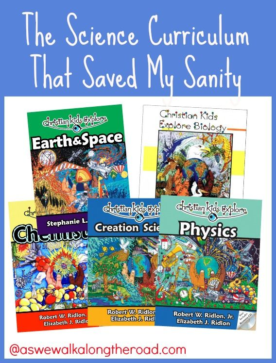 Looking for a Christian science curriculum that all of your elementary and middle school students can use? Check out the Christian Kids Explore series from Bright Ideas Pres..