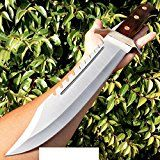 165-FULL-TANG-RAMBO-BOWIE-MACHETE-TACTICAL-SURVIVAL-HUNTING-FIXED-BLADE-KNIFE