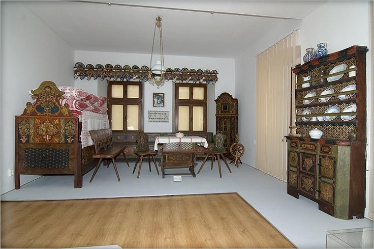 "Saxon Interior at the ""Gheorghe Cernea"" Ethnographic Museum Rupea"