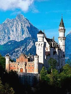 King Ludwig II castle, Bavaria, Germany