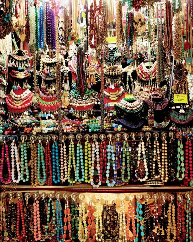 """""""It is worth squeezing your way through the tight entrance of this particularly colorful bead   store, which is filled to the brim with pearls and semiprecious stones."""""""