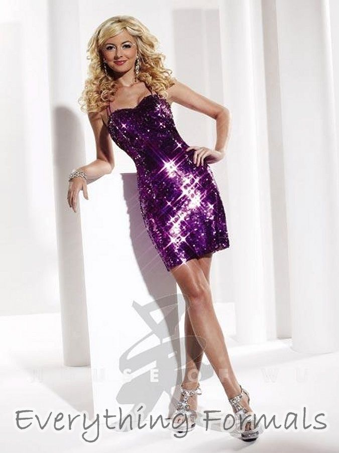 Radiant and Enticing #Sequin Sweetheart Neckline Fitted Sheath #HomecomingDress by #HannahS Style 27788. If you want to look like a million dollars but not spend a fortune, Everything Formals has what you need. With plenty of gorgeous dresses like this one at affordable prices you can't go wrong. This dress is only $150! Go to Everything Formals to order now.
