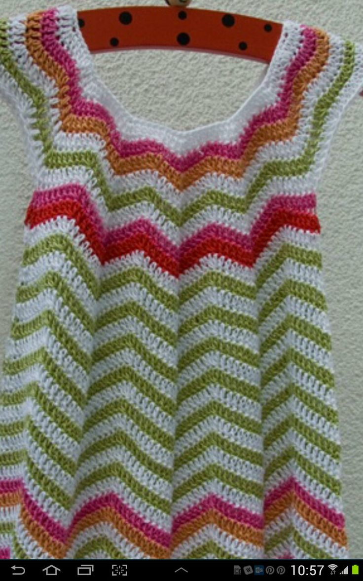 slippery slope crochet Crochet chevron tunic pattern ...