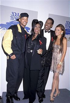 with Will Smith, Patti LaBelle, Luther Vandross - 6th Annual Soul Train Awards (Photo by Jim Smeal/WireImage)