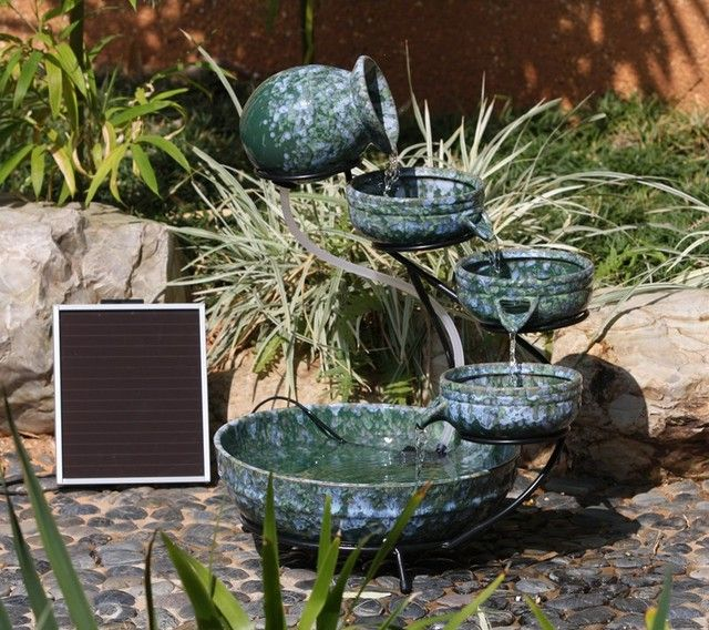 traditional outdoor fountains
