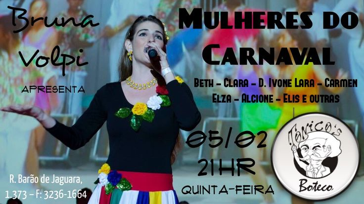 Mulheres do carnaval
