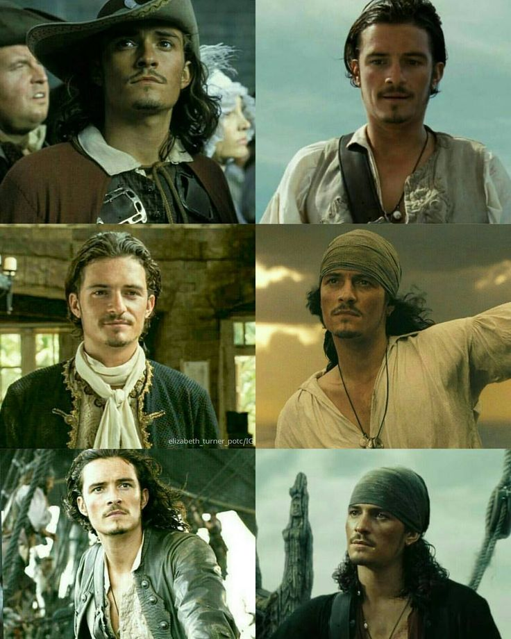 "- Pirates of the Caribbean : ""Will Turner #piratesofthecaribbean @orlandobloom"""