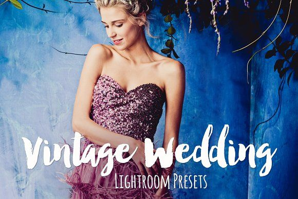 Vintage Wedding  Lightroom Presets by BeArt-Presets on @creativemarket
