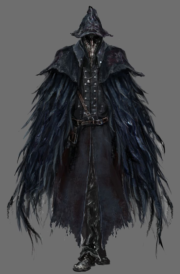 This is the Crow from Bloodborne. What I like from this is how the characters…
