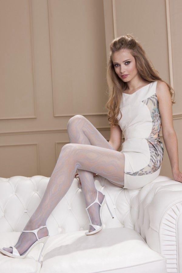 Hvit Kvinnes Strømpebukser