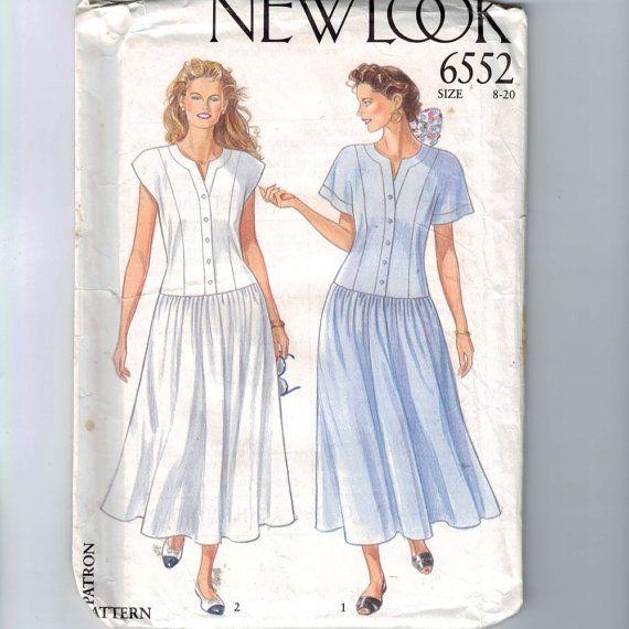 Costura vintage de la década de 1990 por historicallypatterns