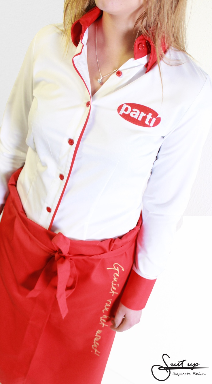 #Bedrijfskleding voor Parti! www.suitupnow.nl