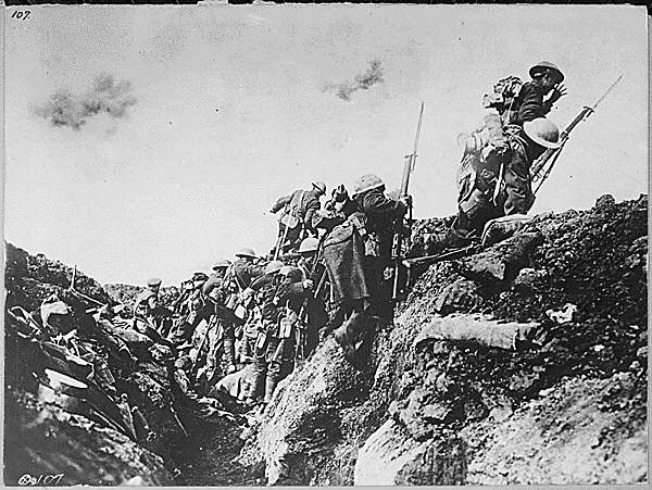 Canadian Troops, Battle of Vimy Ridge, 1917