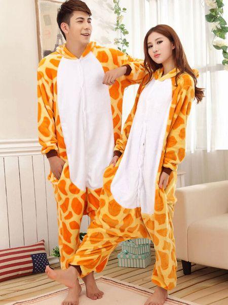 Costume de mascotte animaux girafe impression qualité