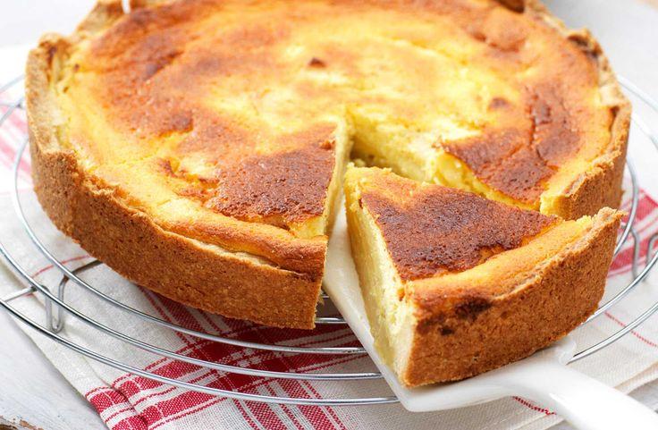 Recept voor Frisse appeltaart met citroenkwark - Koopmans.com