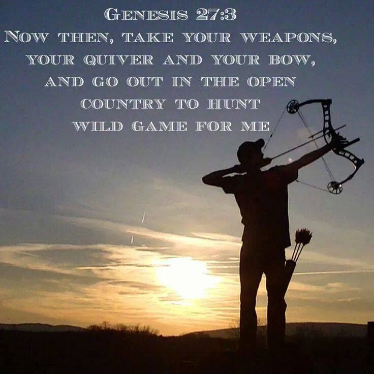 Genesis 27 3 t 39 s new tattoo hunting fishing for Bible verses about fish