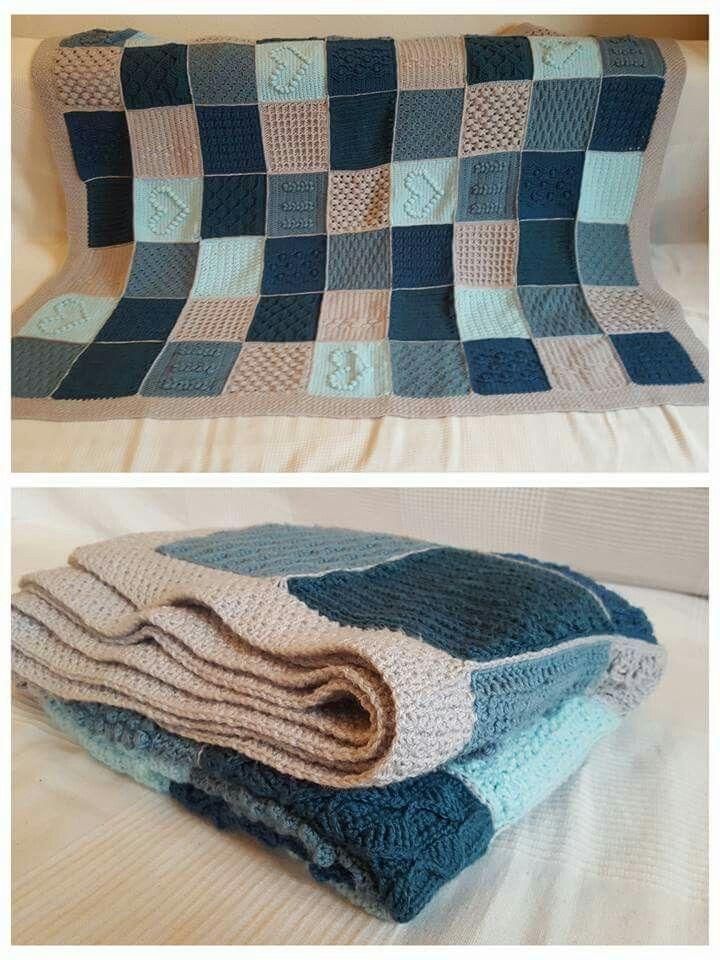Scheepjes Blanket CAL 2016 - In Memory of the Designer Marinke Slump (Wink) - Last Dance on the Beach.... Free pattern on Scheepjes Yarn website...