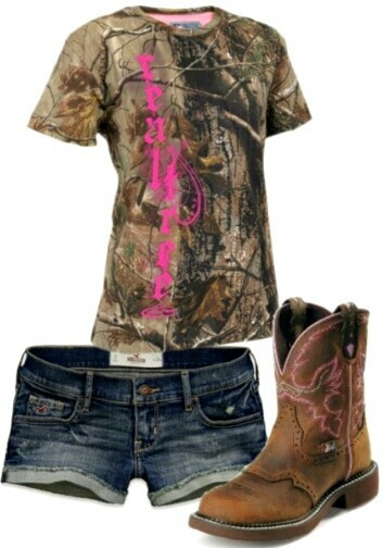 Country Life # Camo just not those kind of boots