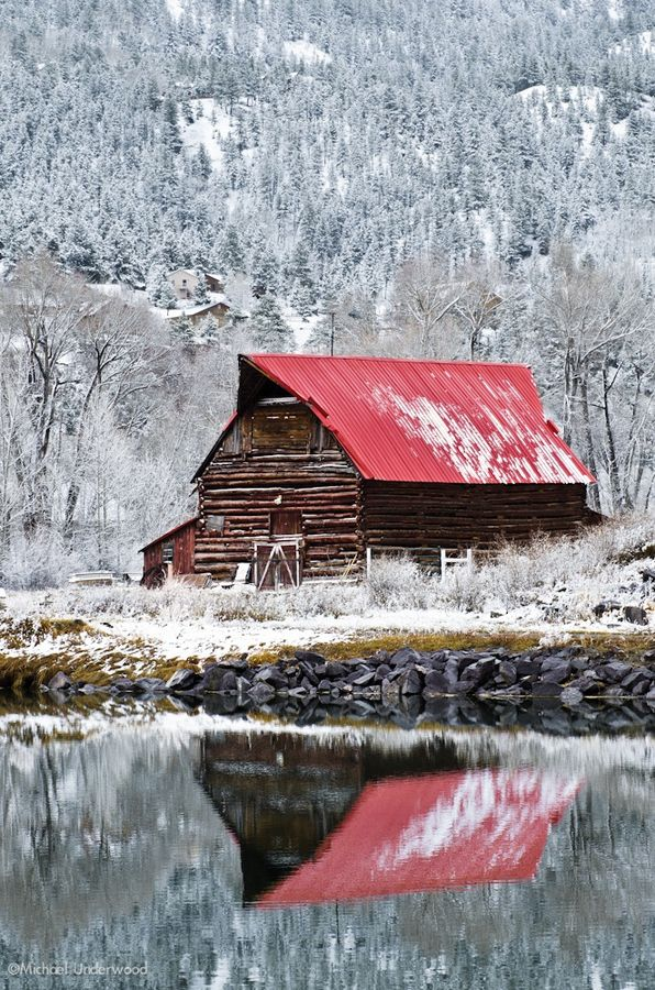 After an early spring storm in Lake City, Colorado...#famfinder