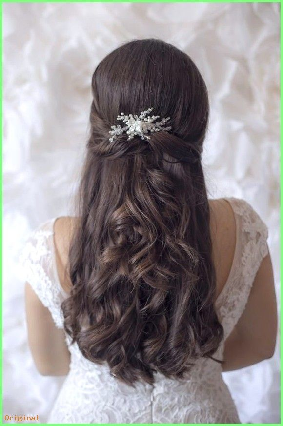 43 Gorgeous Half Up Half Down Hairstyles That Perfect For A Rustic Wedding New Site In 2020 Hochzeit Kopfschmuck Kopfschmuck Hochzeit Kopfschmuck Braut