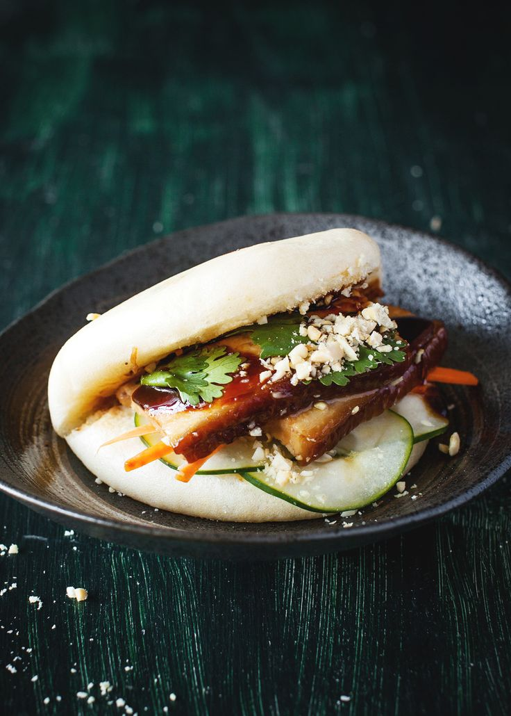 Braised Pork Steamed Buns (gua bao)   A Table For Two