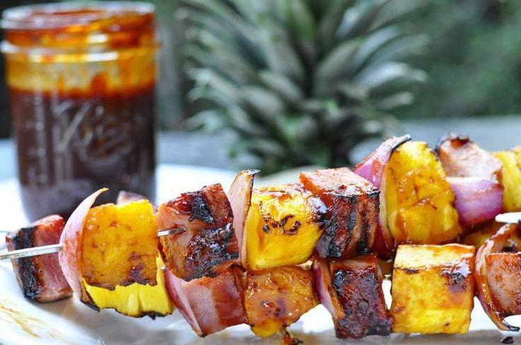 Hawaiian BBQ Skewers