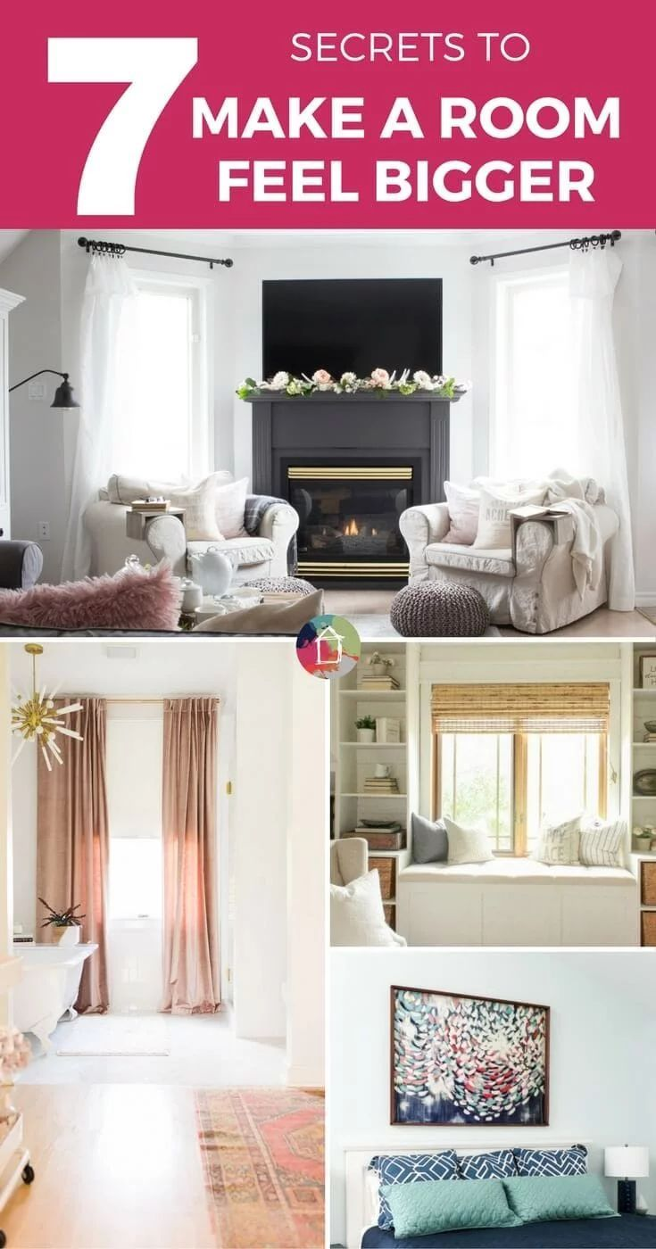 How To Make A Small Room Look Bigger 7 Awesome Tr