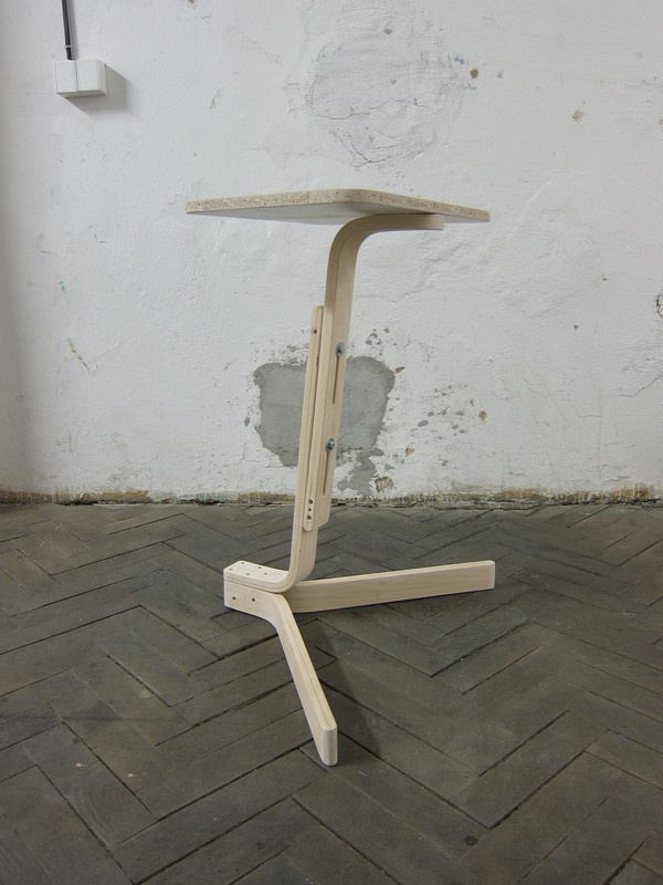 Martin Zampach Poang Coffee Side Table Design