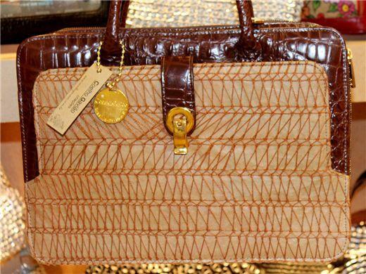 Pasta Executivo/Notebook - bordado no saco de cimento descartado