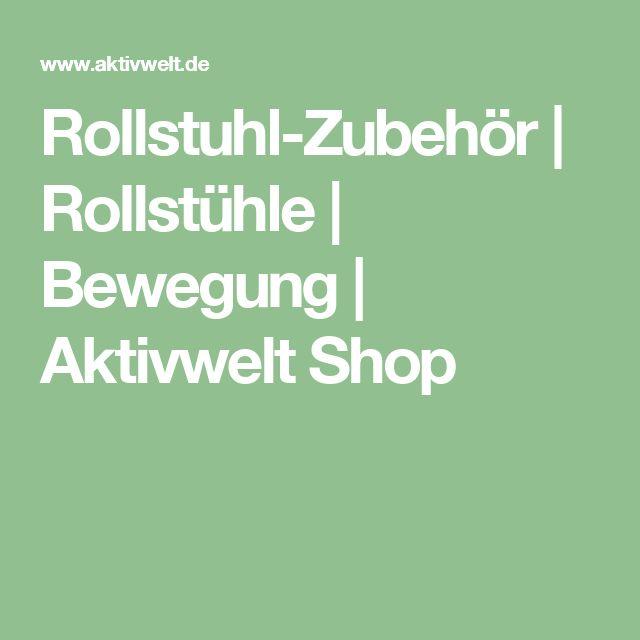 Rollstuhl-Zubehör | Rollstühle | Bewegung | Aktivwelt Shop
