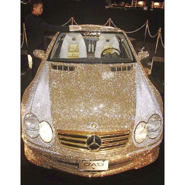Hello baby ! Diamond Mercedes !