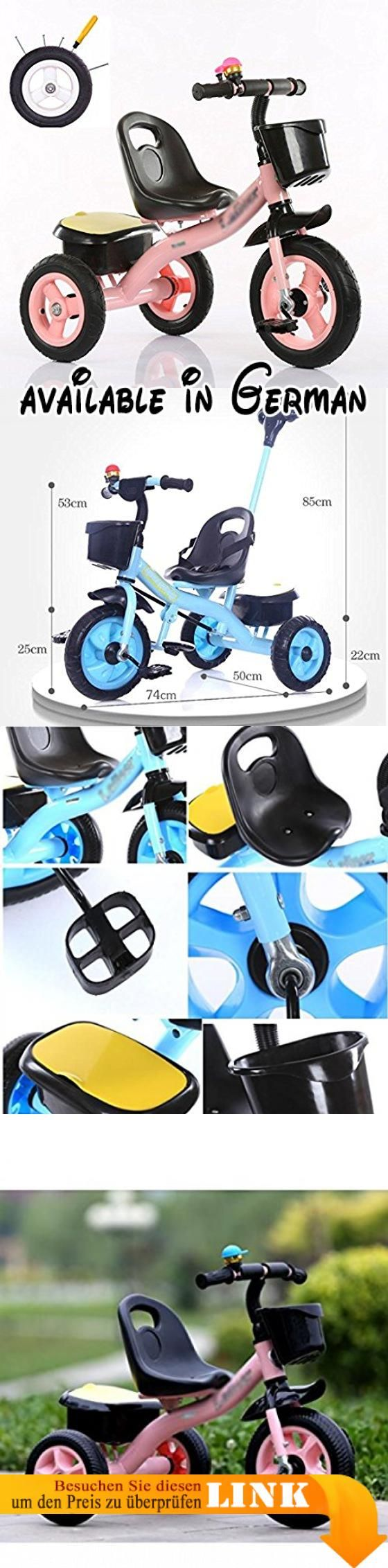 Dreirad und Kinderwagen Baby Dreiräder, Cabriolet Pedal Trike Push Bike Easy Steer Dreirad Kinderwagen Spielzeugauto ( Farbe : A ). Wächst mit deinem Kind - 4 Wege zu reiten: Säugling Trike, Lenkung Trike, Learn-to-Ride Trike und klassischen Trike.. Sichere 3-Punkt-Kabelbaum und hohen Rücksitz für Säuglingssicherheit.. Abnehmbarer Sicherheitsbehälter mit Becherhalter. Einstellbarer Sitz wächst mit Ihrem Kind.. Erwachsene Steer & Stroll einstellbarer Schiebegriff.