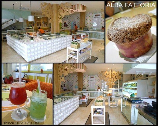 Alba Fattoria  Jl. Barito 2 No.35 South Jakarta  Phone: (021) 7279 0315/ (021) 7279 0371  Average Spending: IDR 110.000