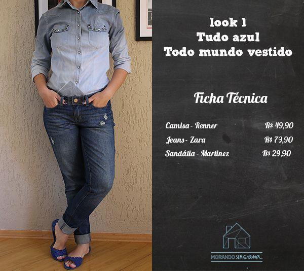 Projeto | Reinvente suas Roupas e Economize | Camisa Jeans