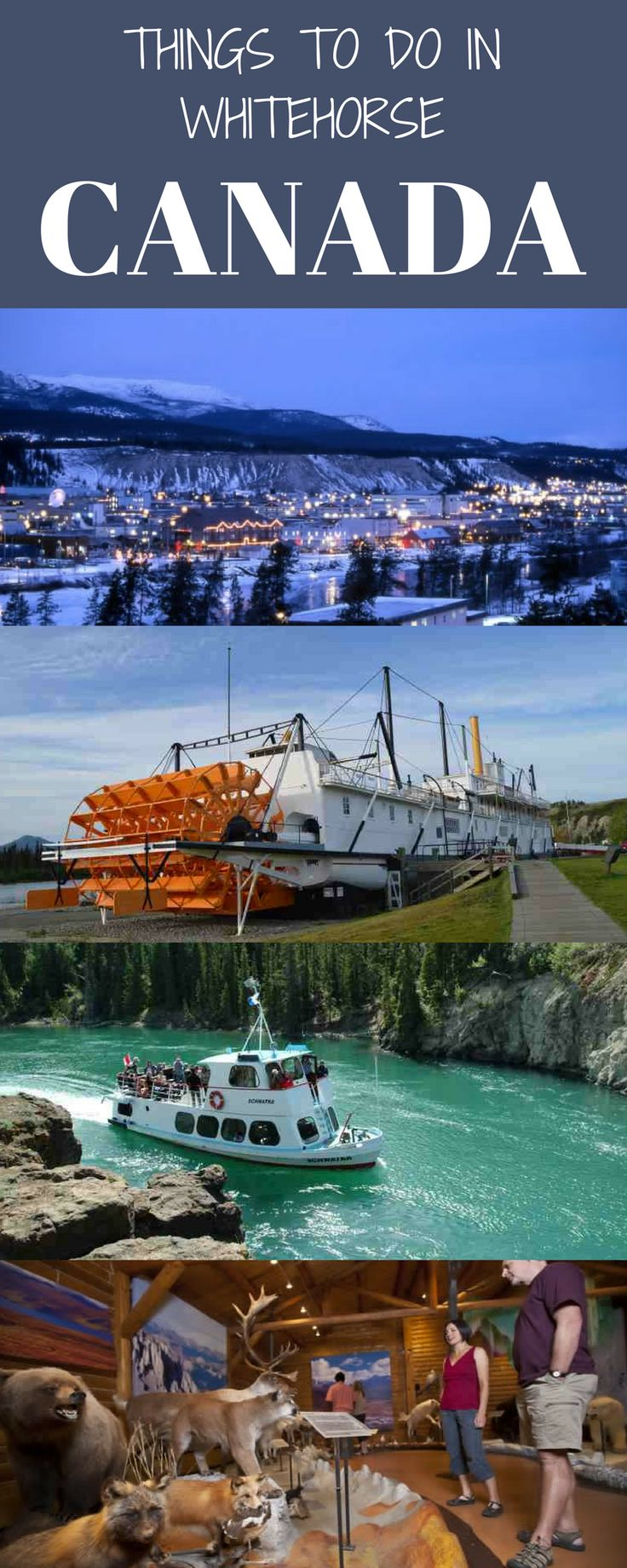 Things to do in whitehorse| Yukon. I hate small towns because once you've seen the cannon in the park there's nothing else to do. – former American comedian, Lenny Bruce.