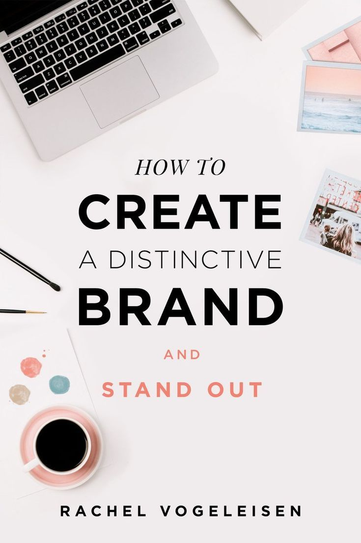 How To Create A Distinctive Brand And Stand Out Be Seen And Heard Above The Rest To Create A Last Branding Your Business Branding Workbook Graphic Design Tips