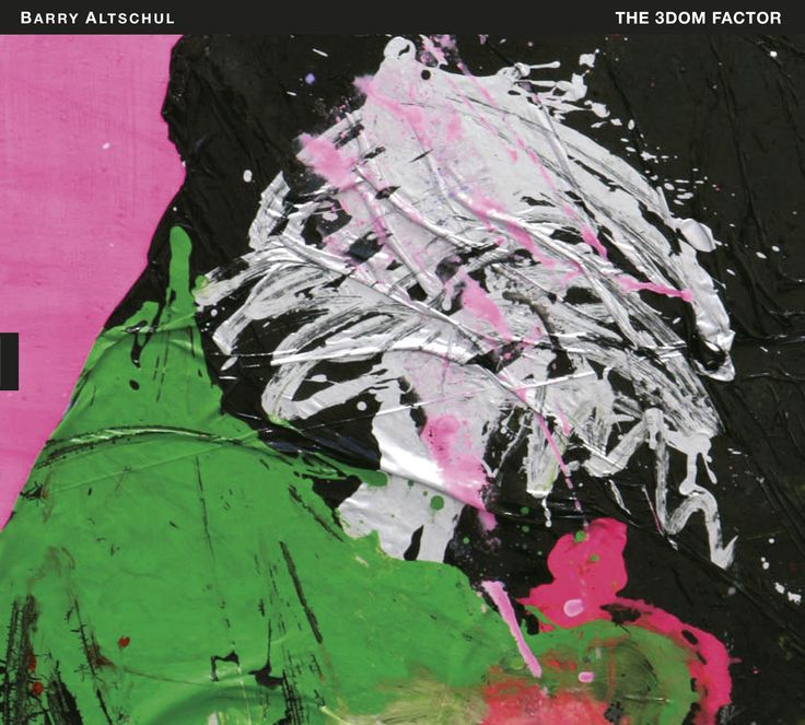"""2013 Barry Altschul - The 3dom Factor [TUM Records TUMCD032] artwork: Marianna Uutinen """"Painting"""" (2011) #albumcover #Abstract #art #Jazz #music"""