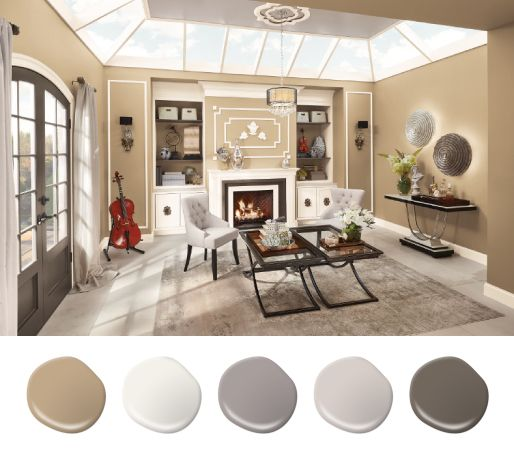 220 best pops colors images on pinterest bedroom colors on home depot behr paint colors interior id=74265