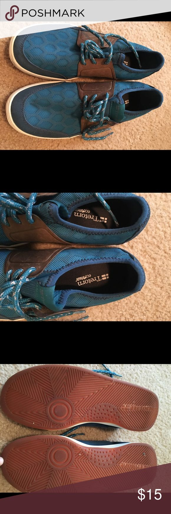 Tretorn Teal Tennis Shoes Tretorn Teal Shoes Size 7. Really good used condition. Only worn a few times. Tretorn Shoes Athletic Shoes