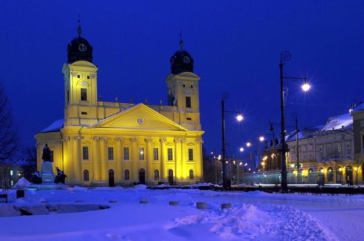 Debrecen (pr. Deb-reh-tsen) #Hungary
