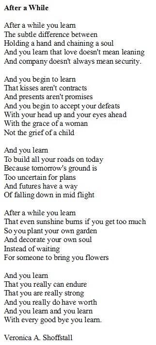 really nice words..