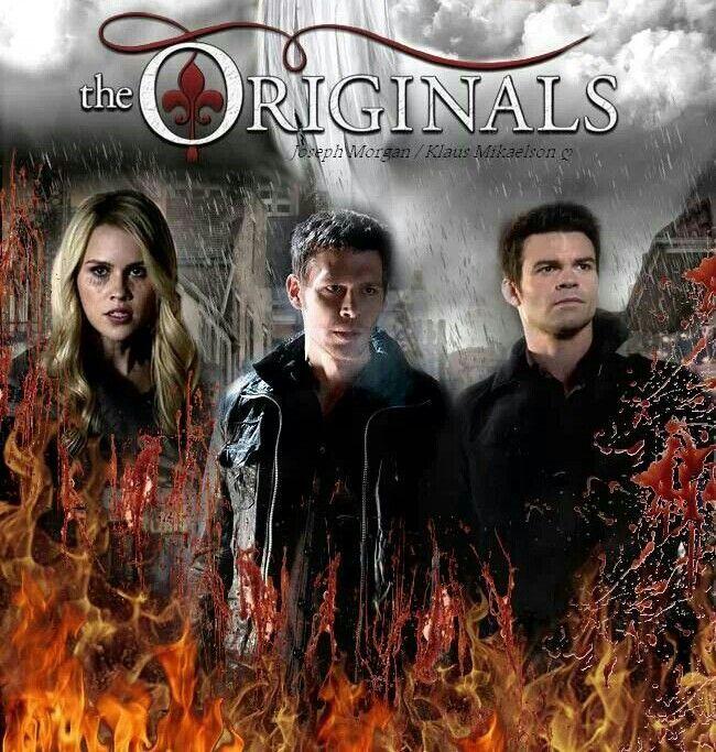 The originals Rebekah, Klaus, Elijah