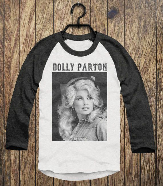 Vintage Style Unisex DOLLY PARTON Printed by HousePigClothing