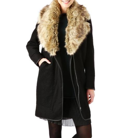 Płaszcz damski promod
