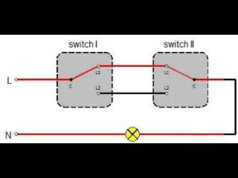 2 Way Switch Connection Wiring Diagram