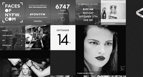 20 Vogue Website Designs from the Fashion Industry