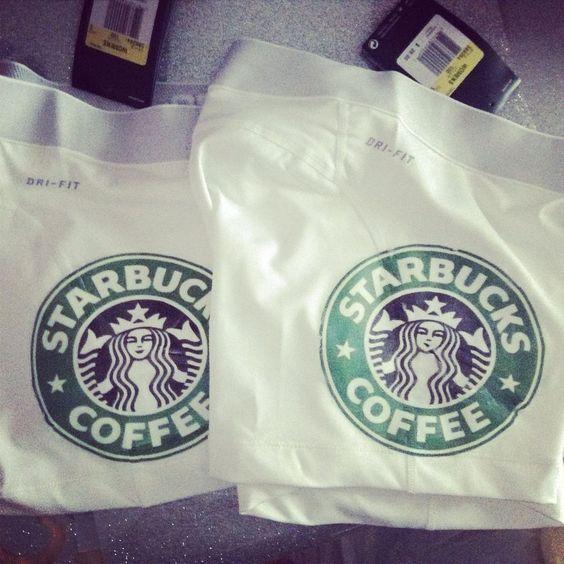 Starbucks Nike Pros Spandex L #Nike #PantsTightsLeggings: