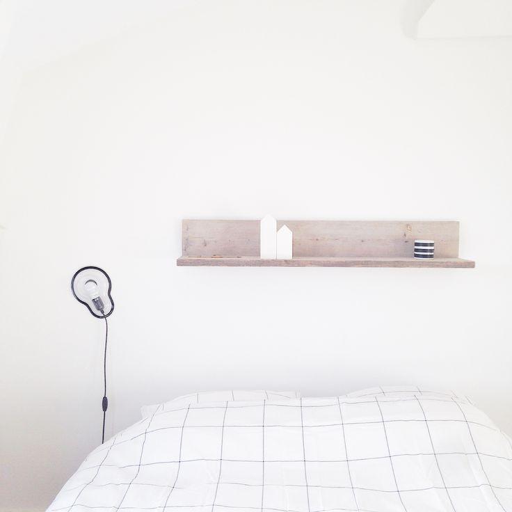 Bedroom | Sticky lamp | White